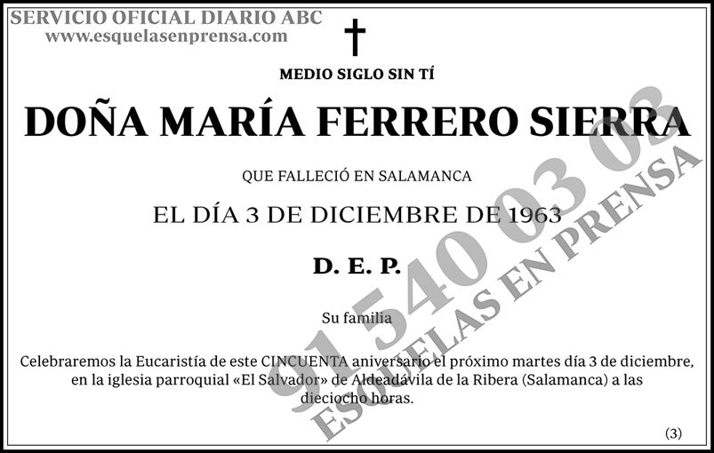María Ferrero Sierra